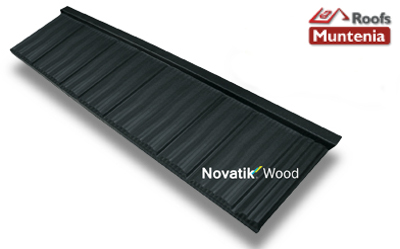 Tigla metalica novatik wood muntenia roofs pitesti